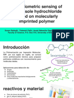 Potentiometric Sensing of Levamisole Hydrochloride Based on Molecularly Imprinted Polymer