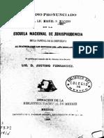 Discurso de Miguel Macedo