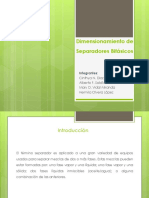 PPT Dimensionamiento de Separadores Bifásicos.pptx