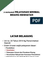 Permenkes 43 Thn 2016 Ttg SPM
