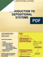 Depositional system