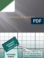 Denuncio Minero Ppt (1)