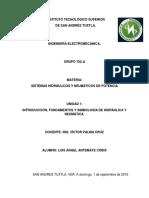 Sistemas Hidráulicos y Neumáticos de Potencia (Portafolio Unidad 1)