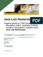 Jens Lutz Hestermann - Gold DGM Gold Erfahrungen Gold Kaufen Gold Verkaufspreis