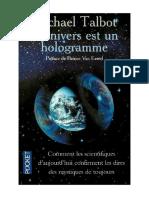 talbot univers hologramme