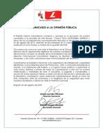 Partido Liberal denunció secuestro de Tulio Mosquera, candidato a la Alcaldía de Baudó