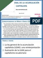 21 La Ley General de La Acumulación Capitalista - JCG