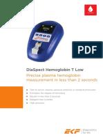 DiaSpect Hemoglobin T Low en EU 0.1-02.17