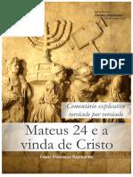 Mateus 24 e a Vinda de Cristo