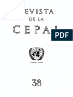 Revista CEPAL N° 38