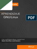 APRENDIZAJE GNU/LINUX