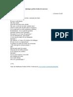 Quelques petites boules de mercure - Osvaldo Lamborghini traducido por Guillaume Contré