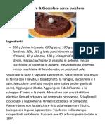 Torta Pere
