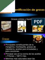 Identificación de grasas.ppt