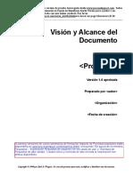 Vision y alcance del documento