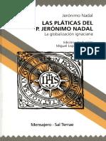 Platicas del P.Jerónimo Nadal