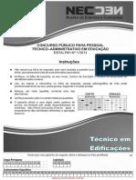 Conc Tec Adm Fev 2014 Med Tecnico Em Edificacoes
