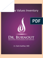 Core Values Inventory