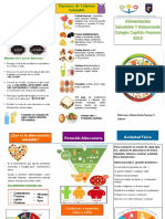 Triptico Alimentacion Saludable - 2019 - Capitan Pastene