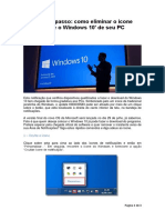 Passo a Passo Como Eliminar o Ícone Baixe o Windows 10 de Seu PC