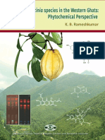 Diversity Garcinia species in the Western Ghats. Phytochemical perspective