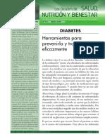 Dossier Salud Nutricion Bienestar Diabetes Curtay