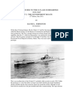 01 S-Boats Part II - The Government Boats