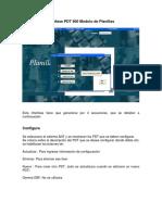 Interface PDT 601 Planillas
