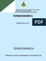 Slides sobre termodinâmica
