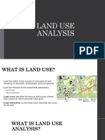 Land use analysis