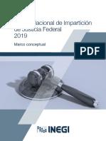 Censo Nacional de Impartición de Justicia Federal 2019
