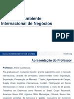 Slides Da Aula Análise Do Ambiente Internacional de Negócios