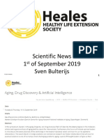 Scientific News 1st of September 2019
