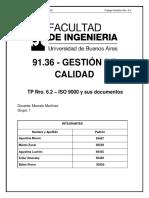 TP 6.2 - IsO 9000-y Sus Documentos VERSION 2