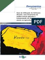 Guia de Utilização do Software Alceste