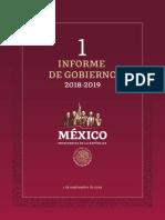 Primer Informe de Gobierno 2018 2019