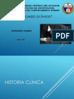 Caso Clinico - Ciencias Del Comportamiento