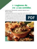 Las 7 Regiones de Guerrero y Sus Comidas