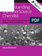 Inner Sourcing Check List