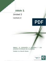 Lectura2_La Educación de Adultos y La Modalidad a Distancia