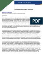 Contexto socioeducativo 2017