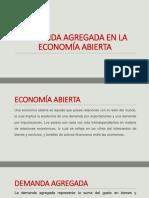 Demanda Agregada en La Economía Abierta