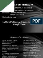 Giorgio Vasari pptx historia del arte - renacimiento