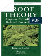 Katalin Bimbo-Proof Theory Sequent Calculi and Related Formalisms-Chapman and Hall_CRC (2014)