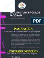 English Study Package Program