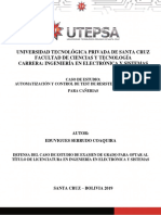 Automatización y control de test de resistencia de cañerías