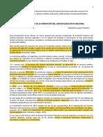 Reseña Histórica de la Educación Argentina