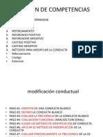 EJEMPLOS PRÁCTICOS DE APLICACIÓN CONDUCTUAL