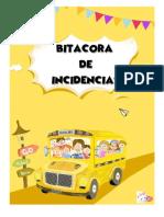 Bitacora de Incidencias