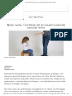 Rosely Sayão_ 'Pais Têm Receio de Assumir o Papel de Careta Da Família'